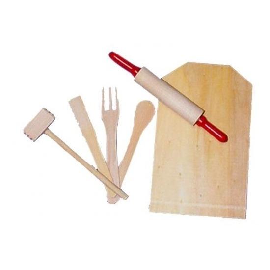 Speelgoed keuken accessoires van hout