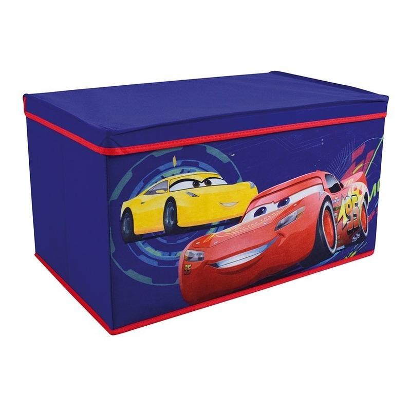 Speelgoed opruimbox Cars 55 cm