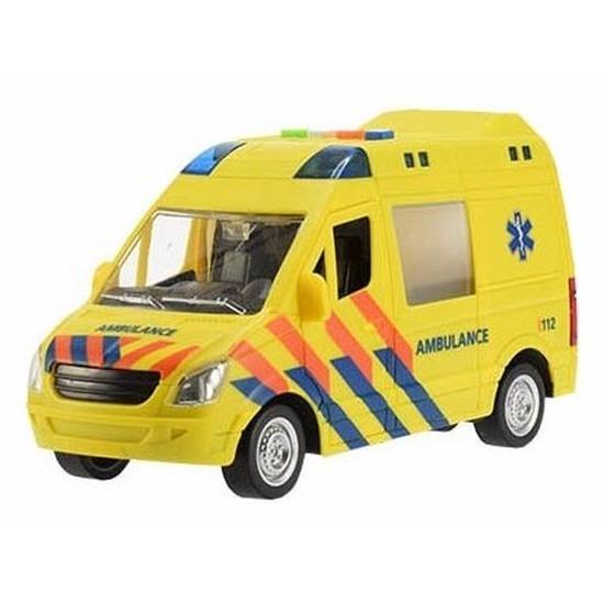 Speelgoed zieken auto met werkend zwaailicht en sirene
