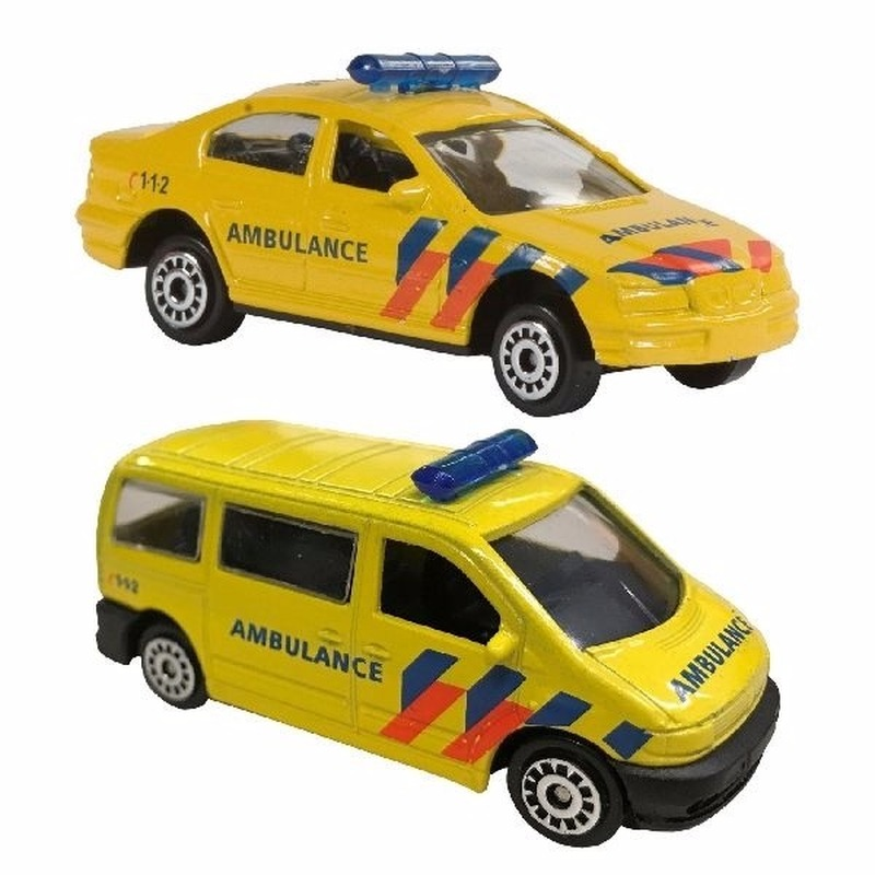 Speelgoedauto Ambulance set 112