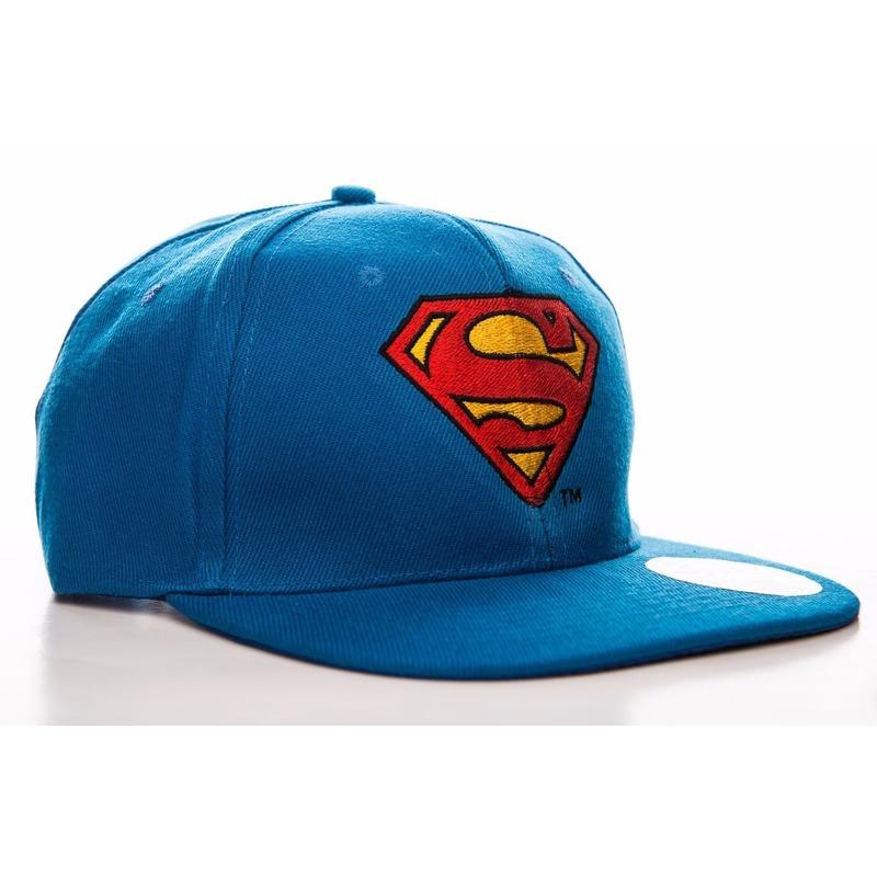 Superman accessoires petten blauw