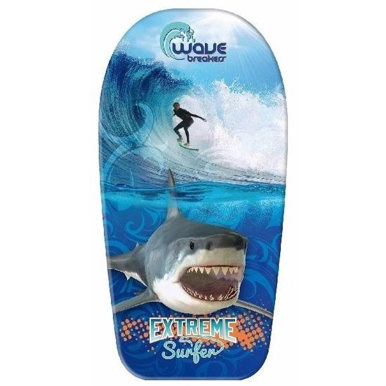 Vakantie bodyboard haai-sufer