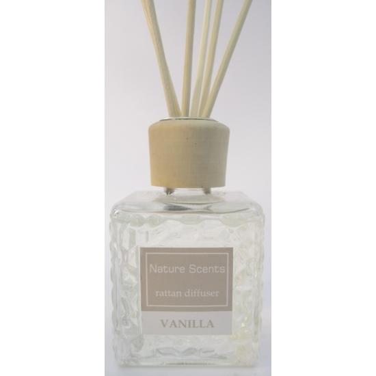 Vanille geur olie verspreider met stokjes 80 ml Bandana winkel Woonaccessoires