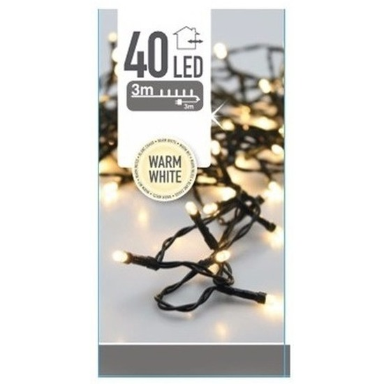 Verlichting LED warm wit 3 meter