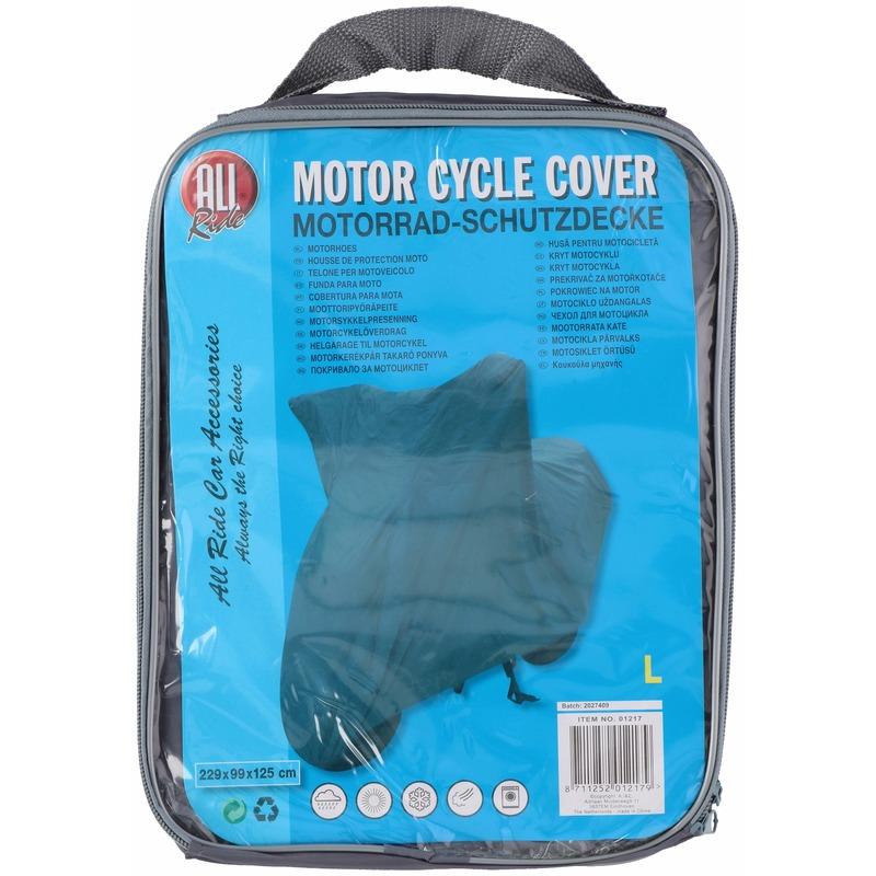 Wasbare bescherming motorhoes