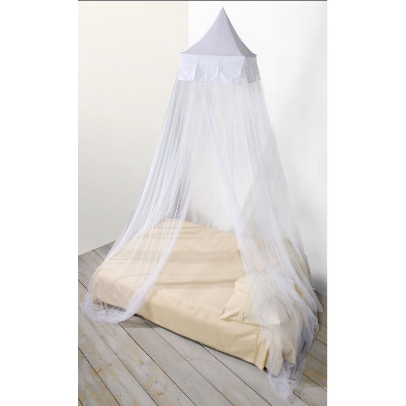 Witte decoratie klamboe voor 2 personen Bandana winkel voordeligste prijs