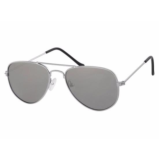 Zilveren piloten zonnebrillen 1-2 jaar