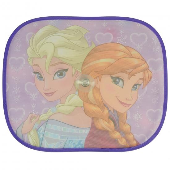Outdoor Vakantie Disney Zonwerend autoscherm Anna en Elsa 2 stuks
