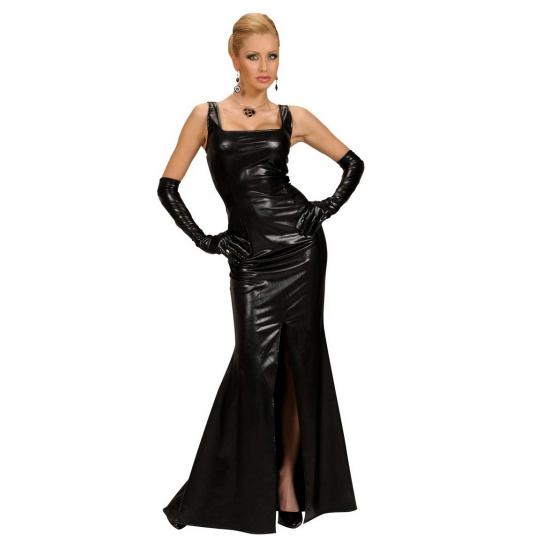 Zwarte gala jurk