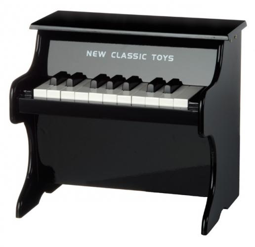 Zwarte piano voor kinderen
