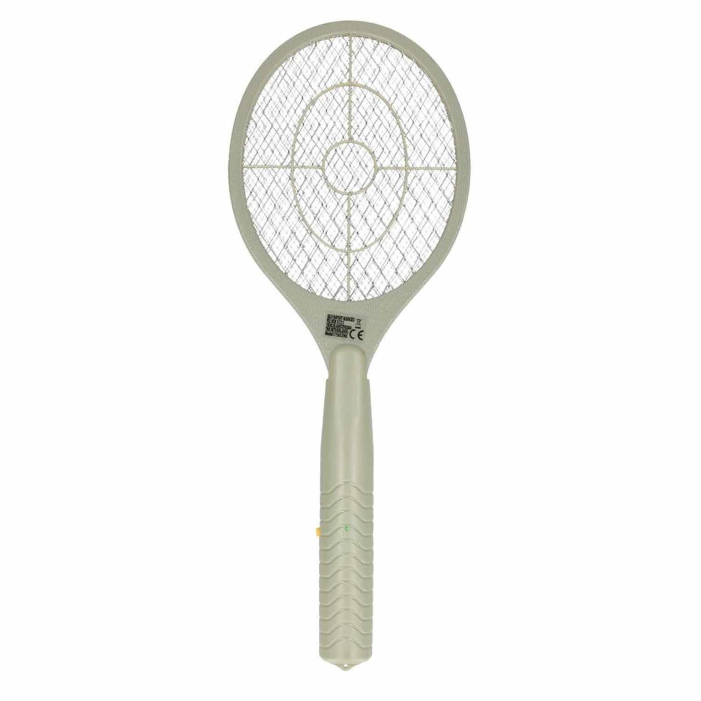 1x Stuks groene elektrische anti muggen vliegenmeppers 46 cm