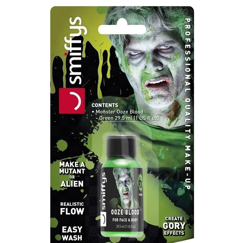 Groen monster-alien nepbloed-kunstbloed 29 ml