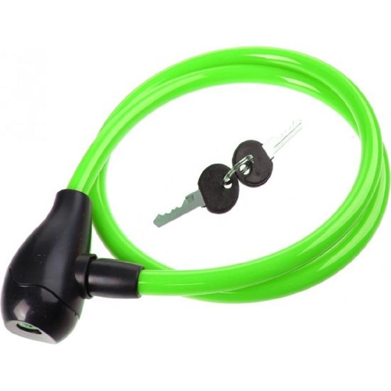 Groen slot voor de fiets 100 cm
