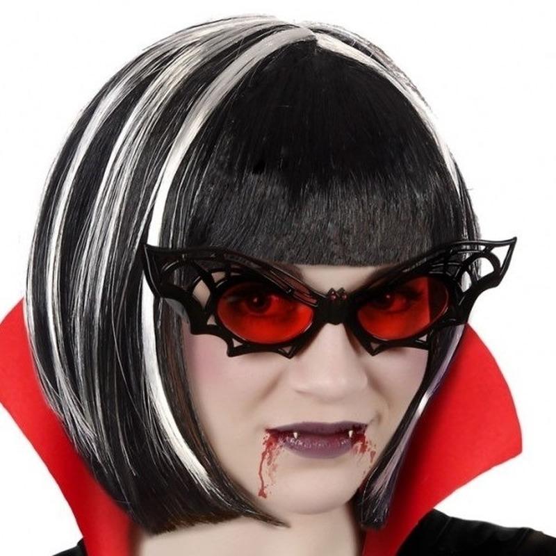 Horror vleermuis verkleed bril voor volwassenen