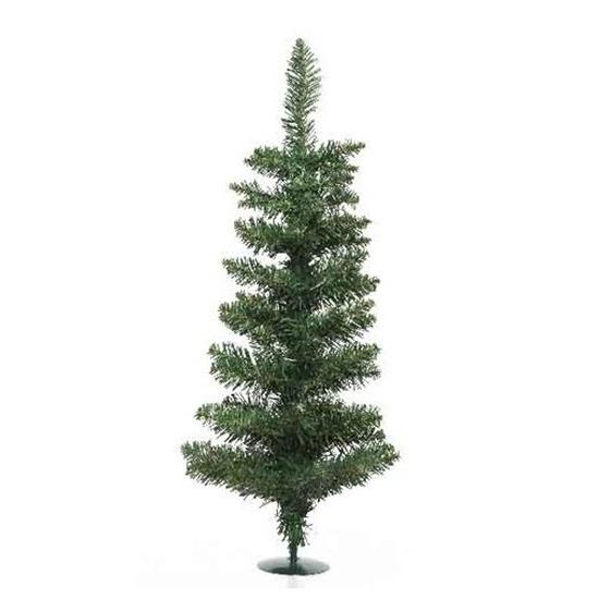 Kleine nep-kunst kerstbomen 75 cm