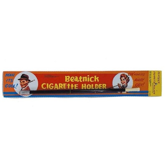Nep sigaretten houder zwart 32 cm