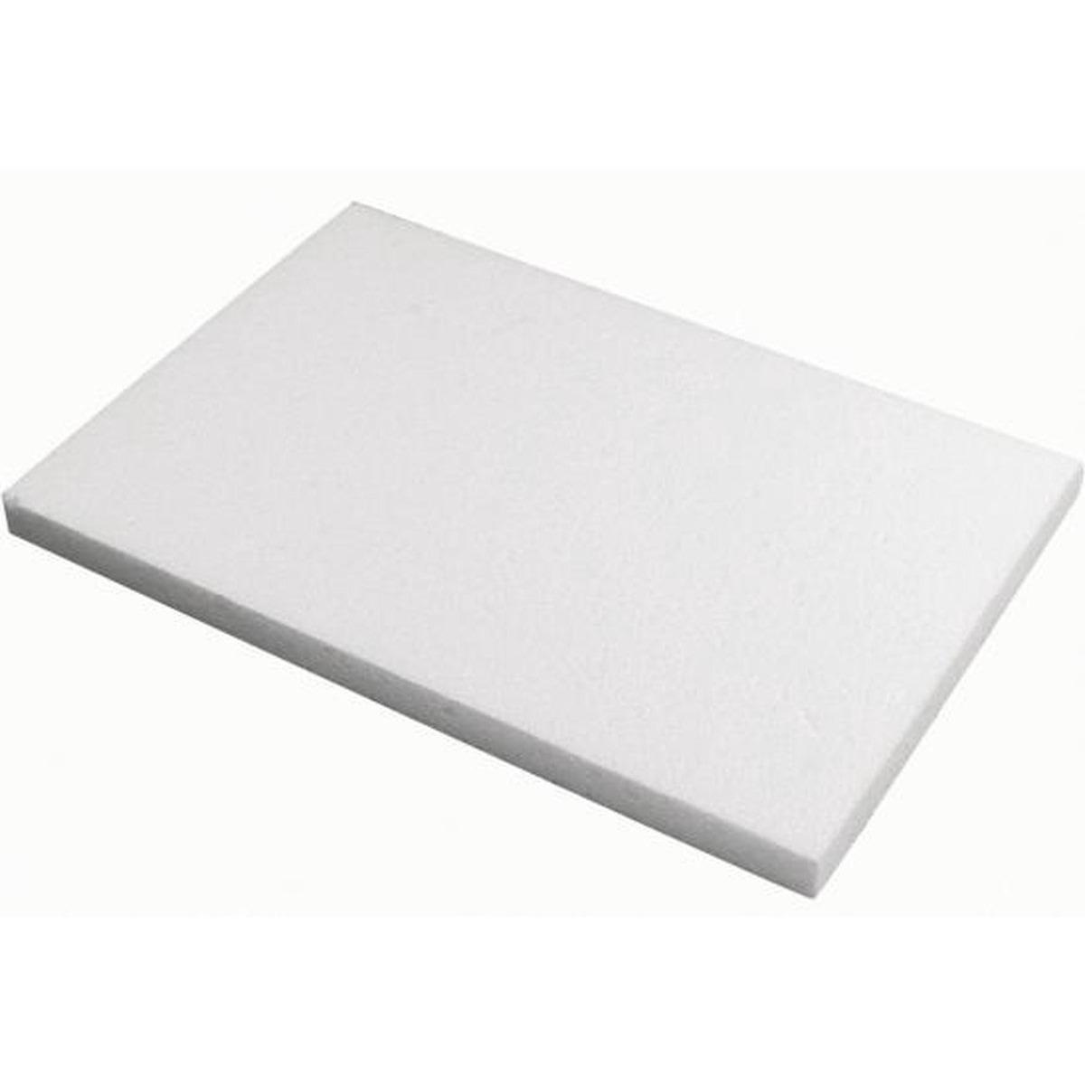 Piepschuim knutsel plaat-platen van 20 x 30 x 2 cm