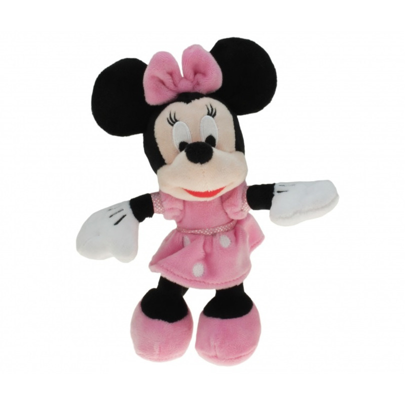 Pluche Disney Minnie Mouse knuffel 18 cm speelgoed