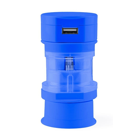 Reis USB poort stekker blauw