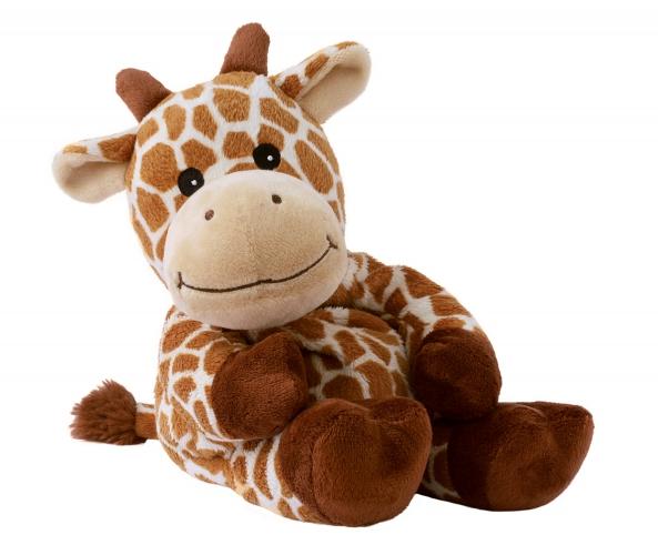 Warmteknuffel giraf bruin 35 cm knuffels kopen