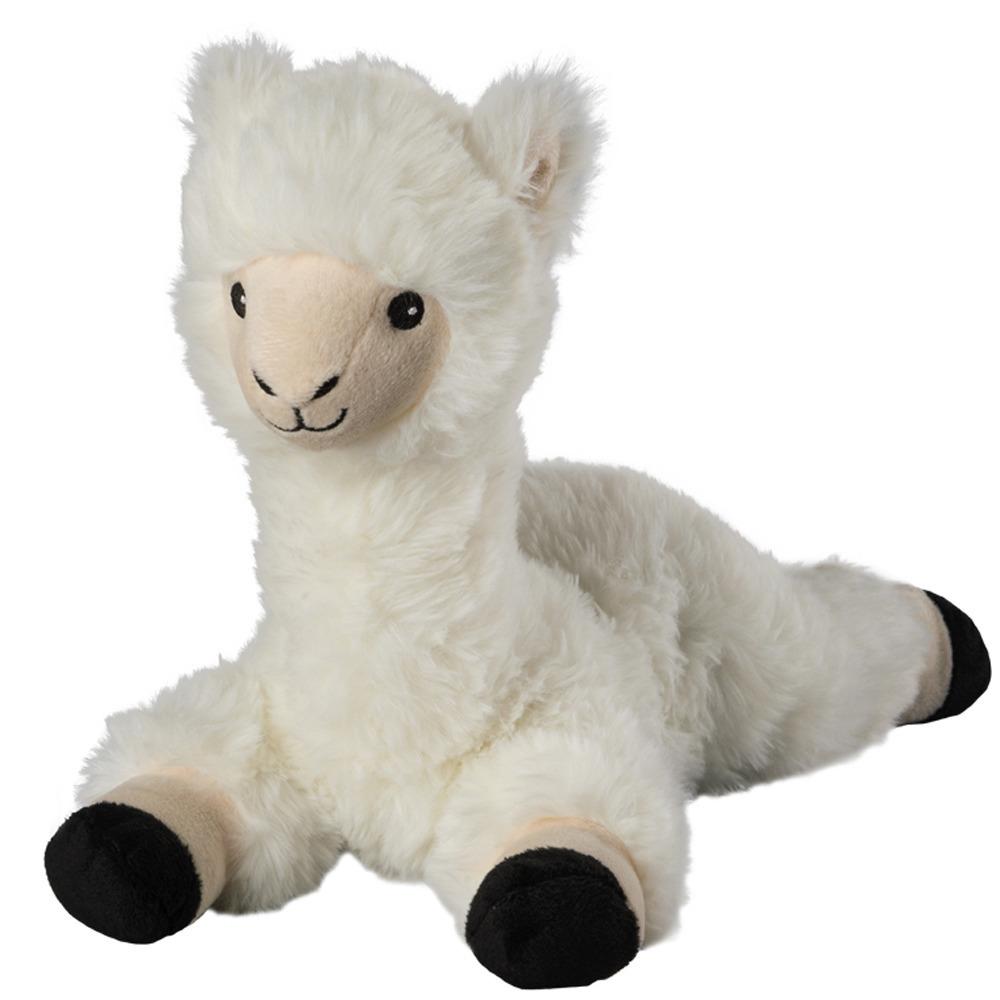 Warmteknuffel lama-alpaca wit 37 cm knuffels kopen