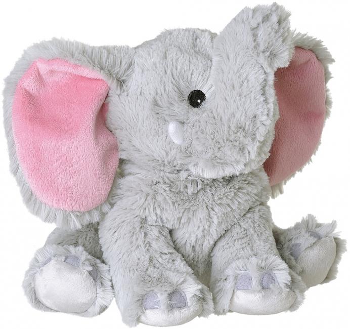 Warmteknuffel olifant grijs 29 cm knuffels kopen