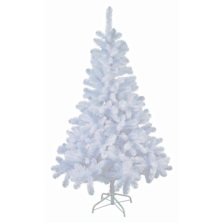 Witte kunst kerstboom-kunstboom 150 cm