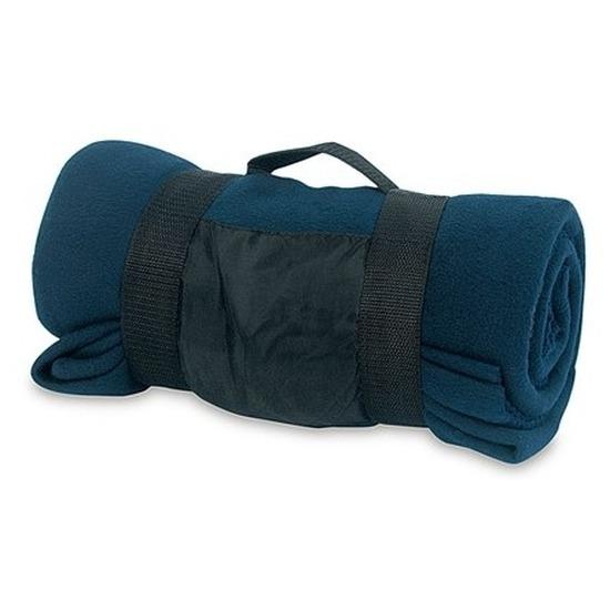 Woondeken-bankdeken navy blauw 130 x 160 cm